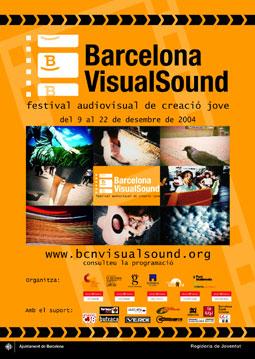 Cartell 2a Edició Barcelona VisualSound