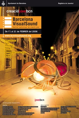 Cartell 3a Edició Barcelona VisualSound