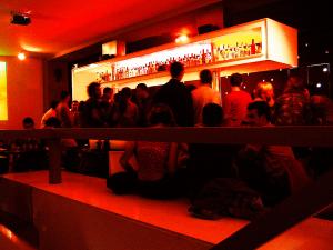 Interior del Bar Sidecar