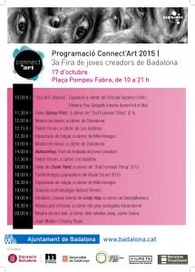 Programació connect'Art 2015