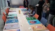 Exposició 3r Concurs de cartells de Festivals per a joves: Cartells Festival Barcelona VisualSound @ Centre Cívic Tomasa Cuevas - Les Corts