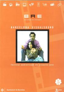 Cartell 1a Edición Barcelona VisualSound