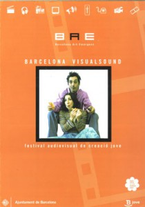 Cartell 1a Edició Barcelona VisualSound