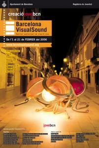 Cartell 3a Edición Barcelona VisualSound