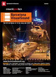 Cartell 4a Edición Barcelona VisualSound