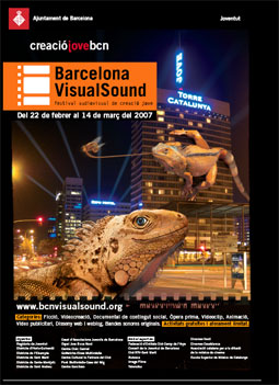 Cartell 4a Edició Barcelona VisualSound
