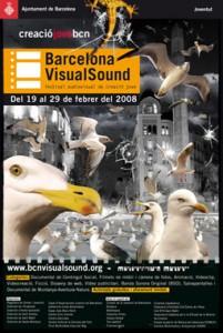 Cartell 5a Edición Barcelona VisualSound