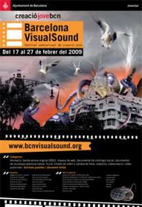 Cartell 6a Edición Barcelona VisualSound