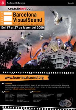 Cartell 6a Edició Barcelona VisualSound