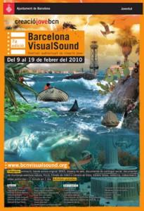 Cartell 7a Edición Barcelona VisualSound