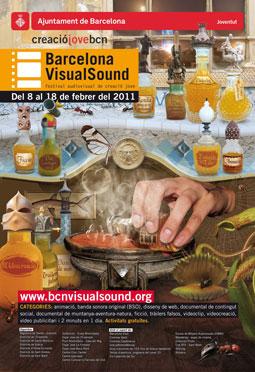 Cartell 8a Edició Barcelona VisualSound