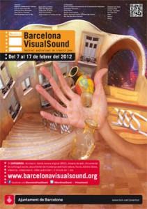 Cartell 9a Edición Barcelona VisualSound