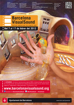 Cartell 9a Edició Barcelona VisualSound
