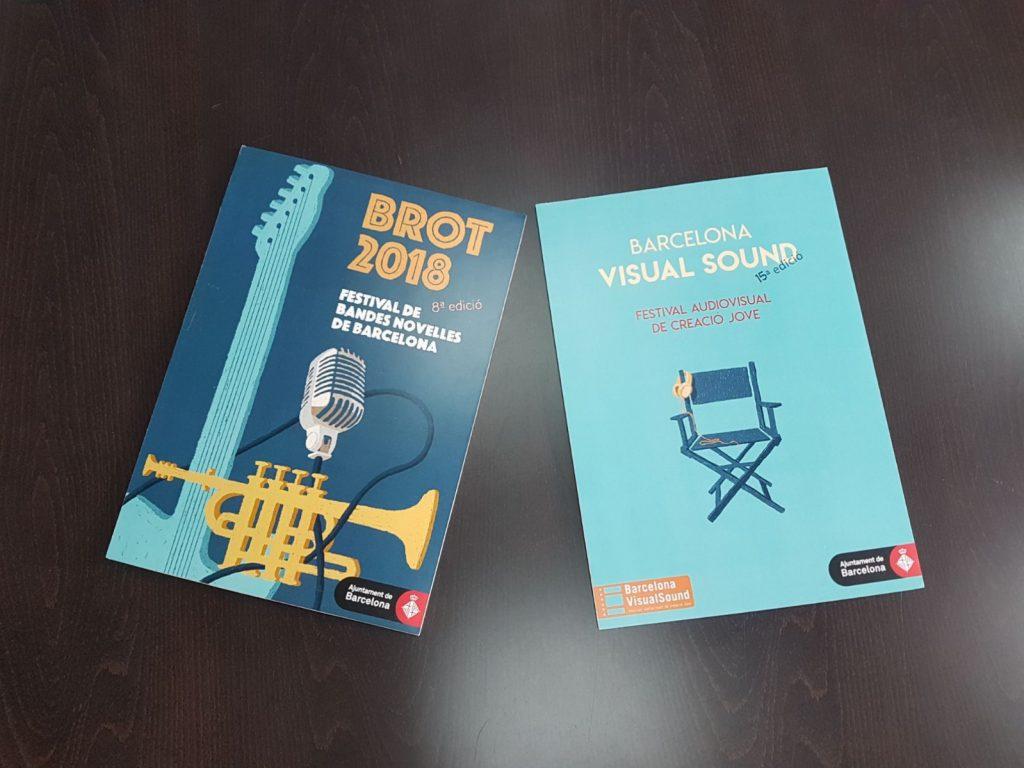 Obres guanyadores del 2n concurs de cartells de Festivals per a joves
