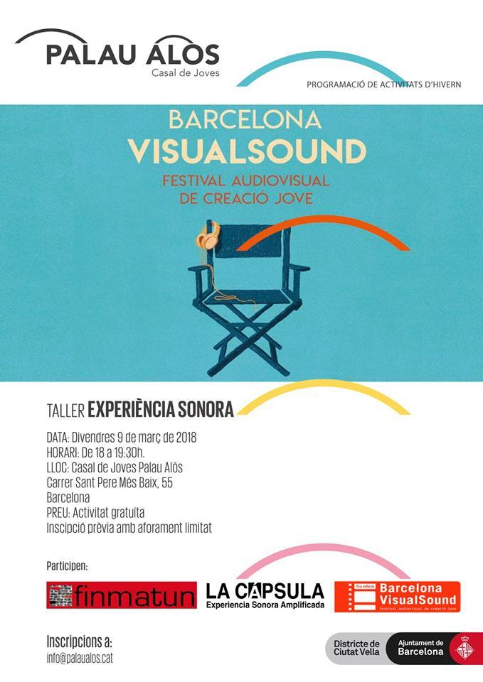 Taller: Experimentem amb el so binaural-La Càpsula @ Casal de Joves Palau Alòs