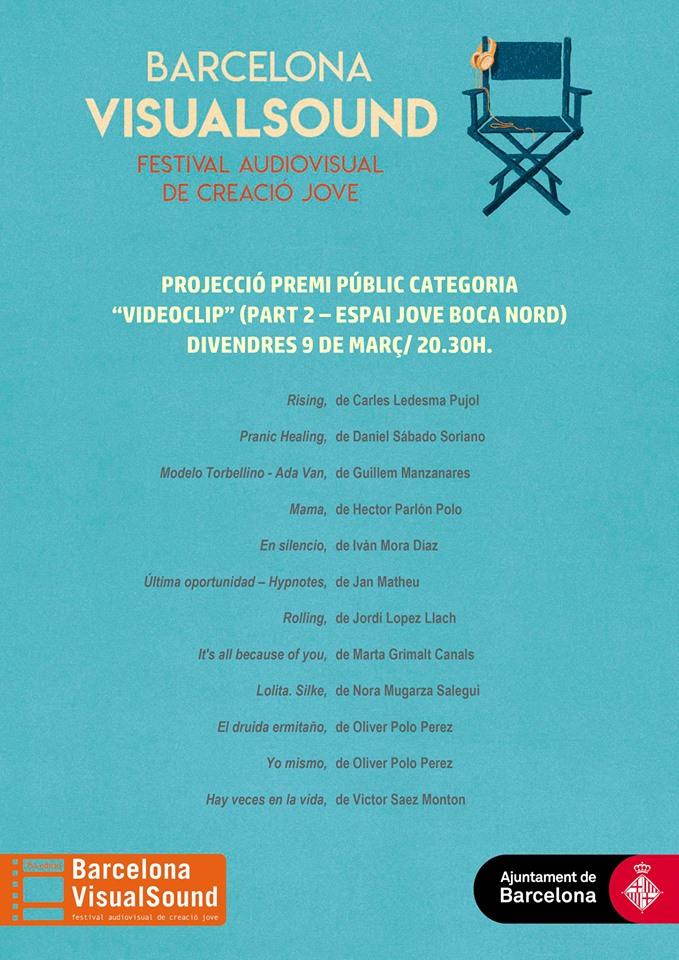 Projecció i votació del Premi Públic categoria videoclip (2a part) @ Espai Jove Bocanord