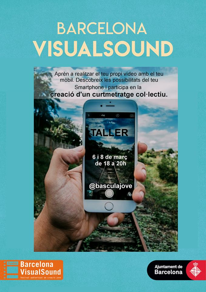 Taller: Creació curtmetratge col·lectiu amb Smartphone I @ Espai Musical i Jove La Bàscula